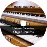 Ultimate Collection: Organ Psalms Sheet Music (CD)