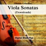 Viola Sonatas Sheet Music Ultimate Collection (Downloads)