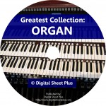 Greatest Collection: ORGAN Sheet Music on DVD