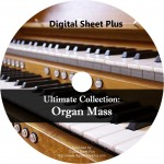 Ultimate Collection: Organ Mass Sheet Music (DVD)