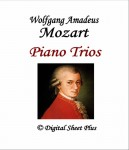 Mozart Piano Trios Book + CD Sheet Music Collection