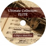 Ultimate Collection: FLUTE Sheet Music on DVD